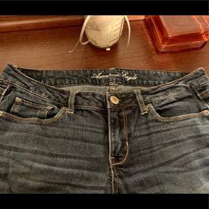AEO Skinny Stretch Jeans 8 Short